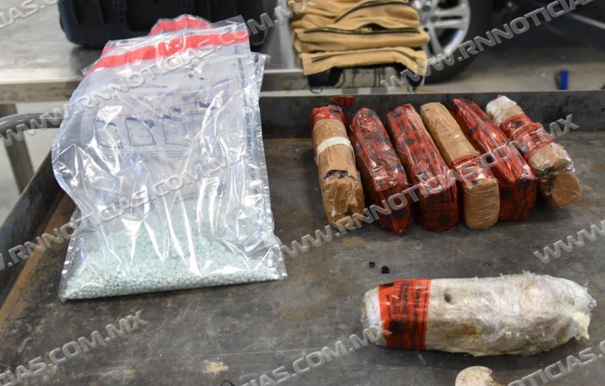Agentes de CBP de Laredo incautan más de $976 mil dólares en narcóticos duros