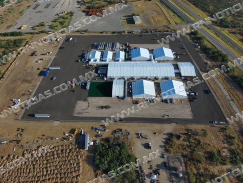 CBP anuncia la apertura de una instalación de procesamiento temporal en Laredo, Texas
