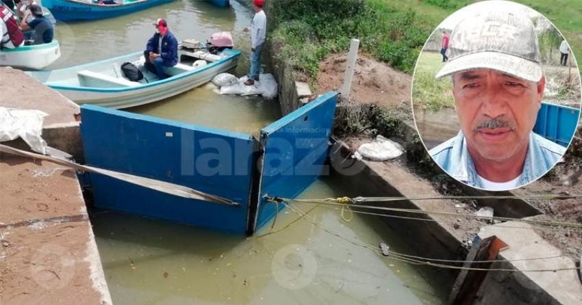 Sigue ingresando agua salobre al sistema lagunario: pescadores