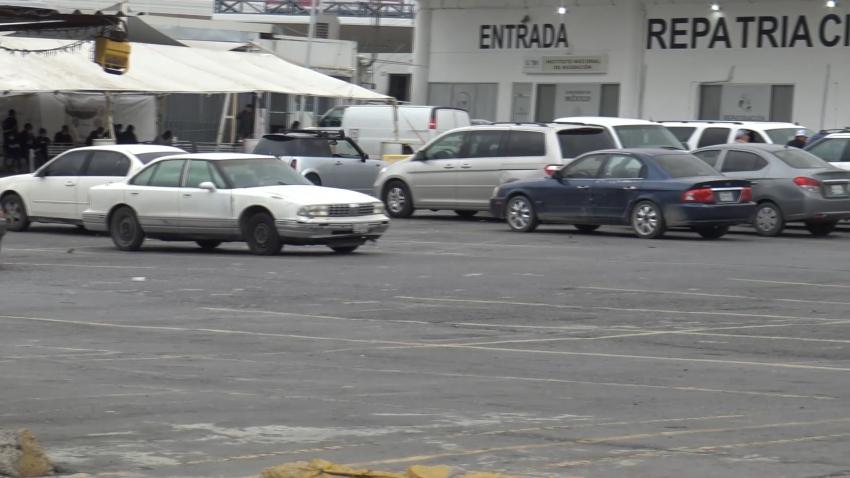 VIDEO Baja la afluencia de paisanos por Nuevo Laredo