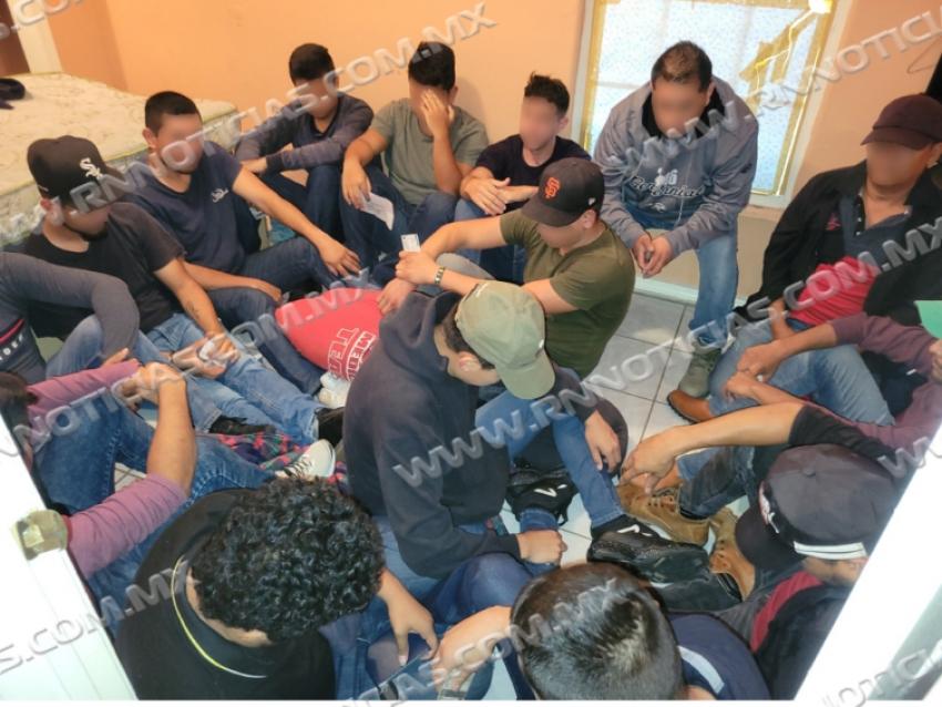 La Patrulla Fronteriza del Sector de Laredo y el Departamento de Policía de Laredo detienen de más de 180 indocumentadas