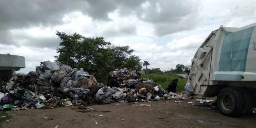 Amenaza basura de Pánuco, saturan relleno de Ébano