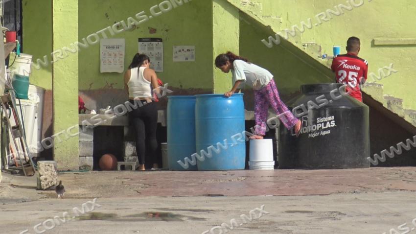 Trabajan autoridades en mantenimiento de refugio municipal