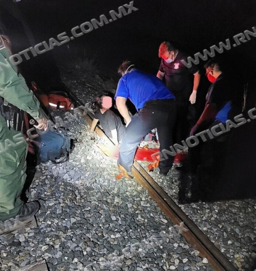 CBP del Sector Laredo rescata a un individuo gravemente herido por el tren