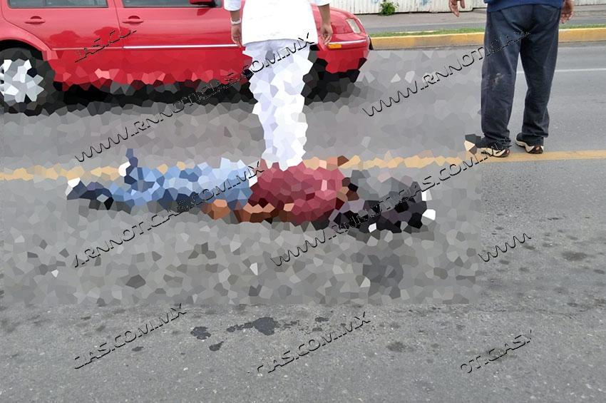 Atropella a menor en avenida Reforma en Nuevo Laredo