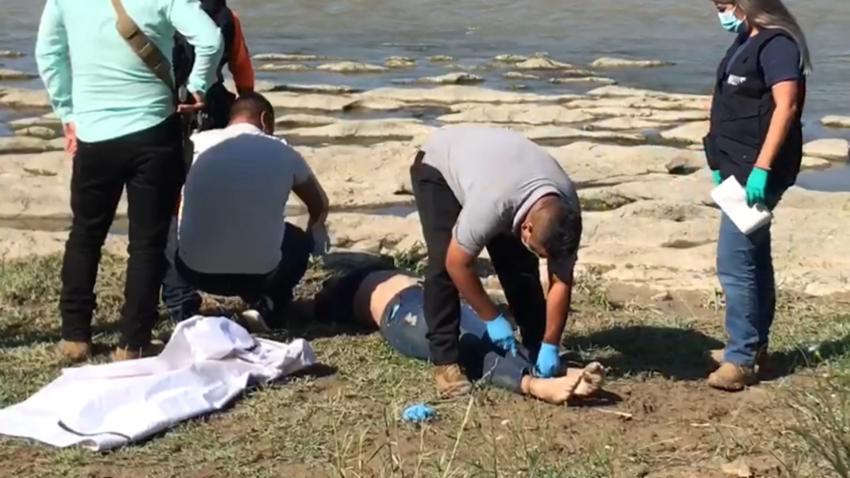 VIDEO Recuperan mujer ahogada del río Bravo; van 19 víctimas