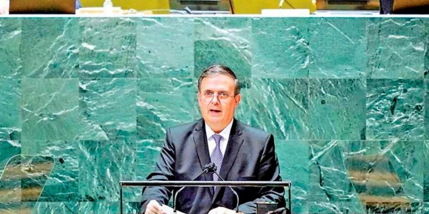 Ebrard pide a EU fin del bloqueo a Cuba