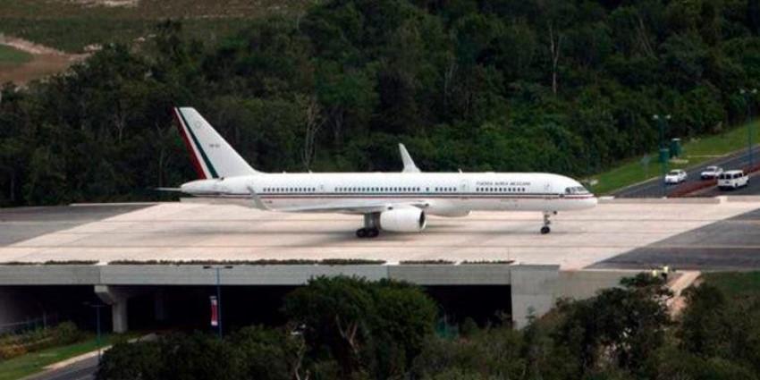 Venden el avión presidencial por 65 mdp