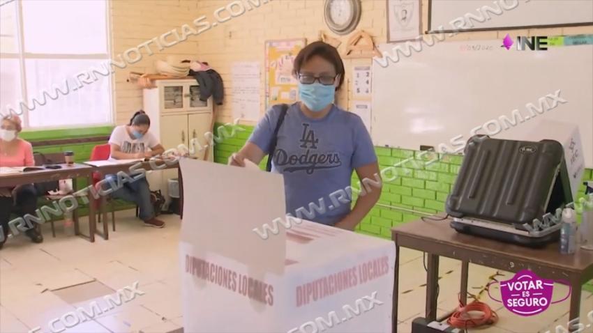 Solo el 30 por ciento vota en Nuevo Laredo; INE Pide ejercer voto