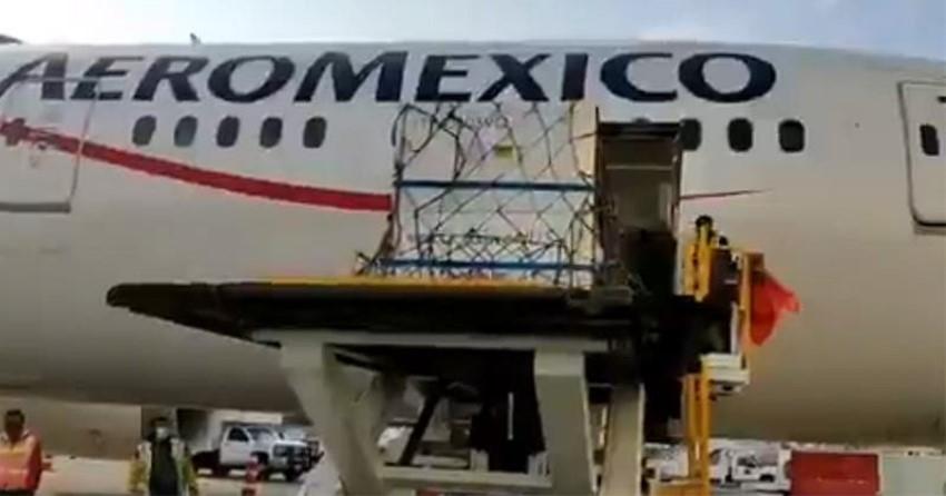 Llegaron a México 5.7 millones de dosis de la vacuna de AstraZeneca