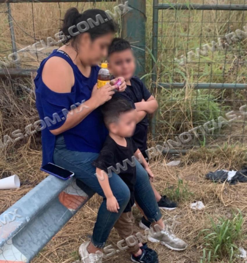 La Patrulla Fronteriza rescata a dos niños en el río Bravo